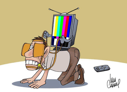 کاریکاتور نقش رسانه