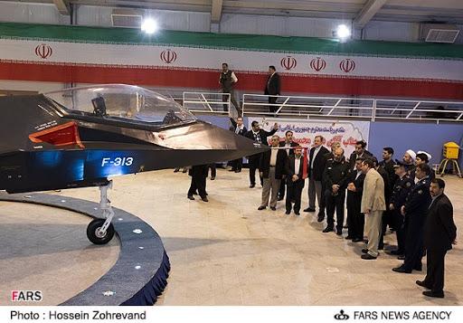 جنگنده فوق پیشرفته قاهر 313