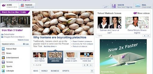 تیتر امروز یاهو در خصوص پسته ایران