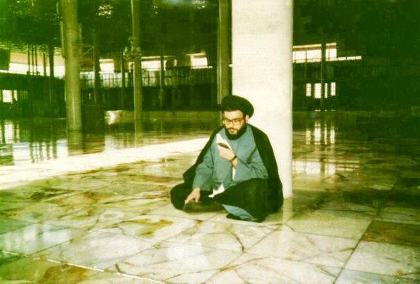 تصویر سید حسن نصرالله در جوانی   مبارز دوست داشتنی