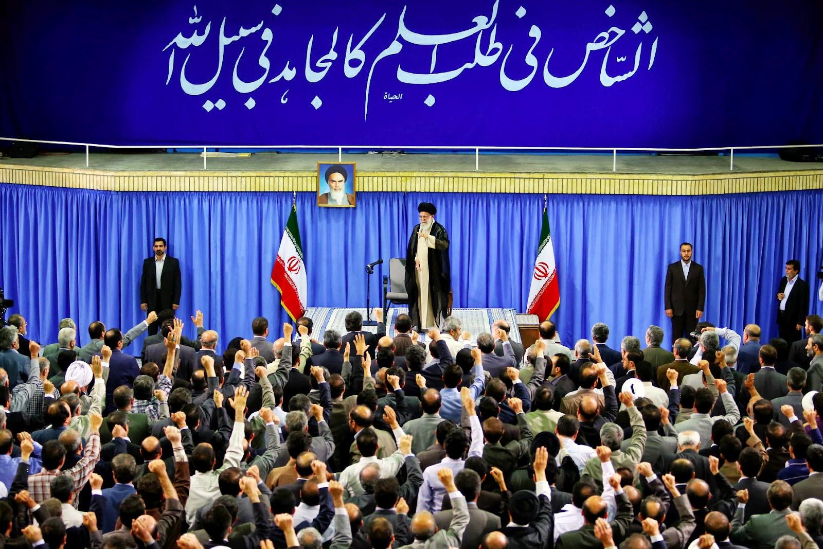پیشرفت علمی زمینه ساز اقتدار اقتصادی و سیاسی ایران   امام خامنه ای