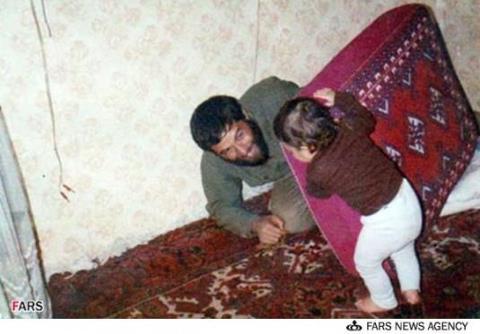 شهید ورامینی  بابایی بودن ِبا تو فقط یه رویا بود
