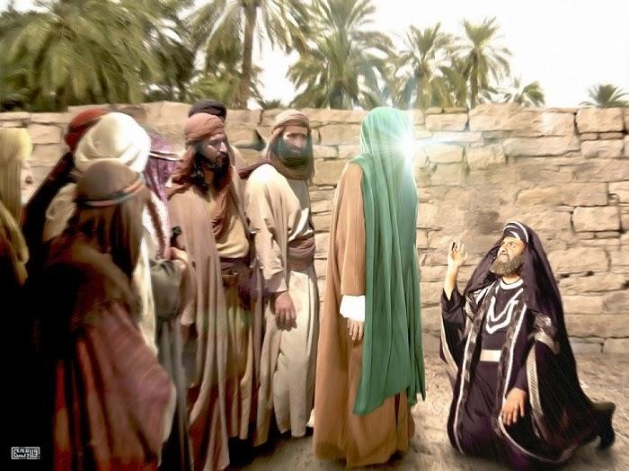 حلم و بردباری را از رسول اکرم بیاموزیم