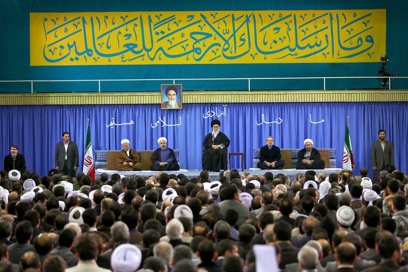 ما دنبال ازادی اسلامی هستیم