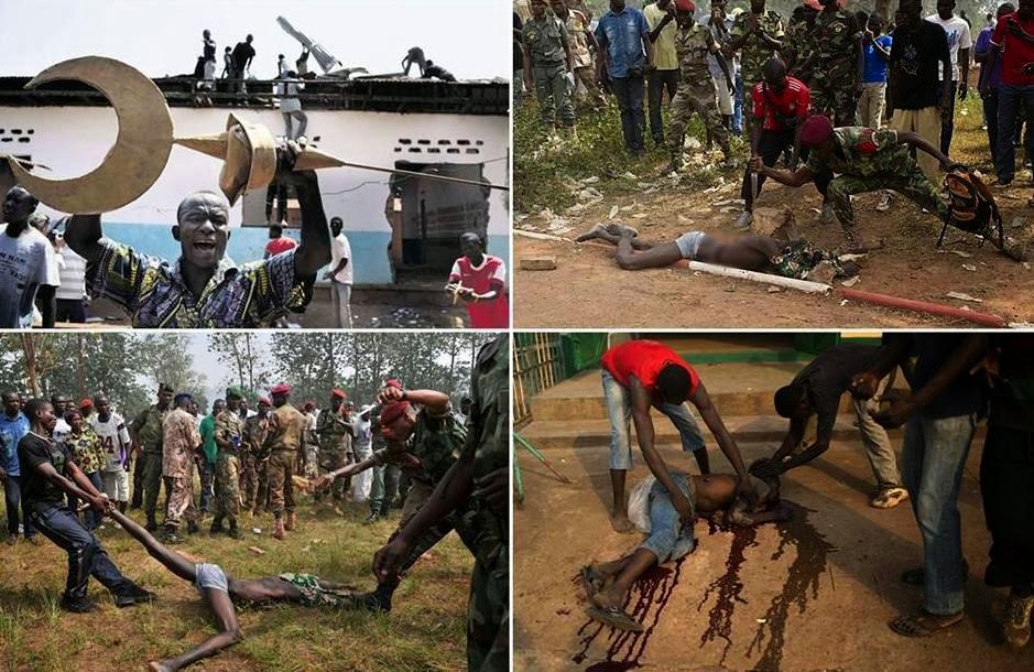 کشتار بی رحمانه مسلمانان آفریقا درسکوت خبری رسانه ها