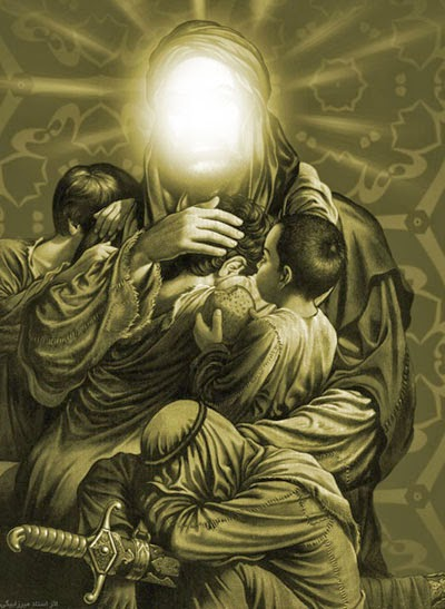 علی چون عشق پروردگارش داشت قدرتمند بود